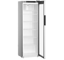 400 literes Liebherr üvegajtós hűtőszekrény - szürke