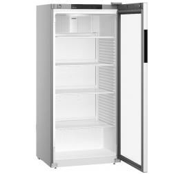 569 literes Liebherr üvegajtós hűtőszekrény - szürke