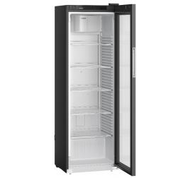400 literes Liebherr üvegajtós hűtőszekrény - fekete