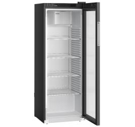 347 literes Liebherr üvegajtós hűtőszekrény - fekete