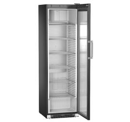 449 literes Liebherr üvegajtós hűtőszekrény mechanikus vezérléssel - fekete
