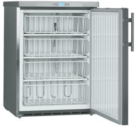 143 literes Liebherr teli ajtós mélyhűtő szekrény - rozsdamentes külsővel