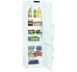 361 literes Liebherr teli ajtós kombinált hűtő-mélyhűtő szekrény - fehér