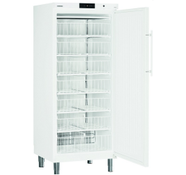 513 literes Liebherr teli ajtós mélyhűtő szekrény kosarakkal - fehér