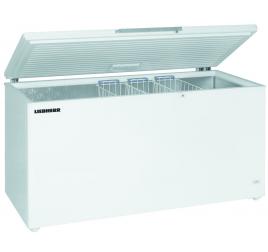599 literes Liebherr mélyhűtő láda felnyíló fehér tetővel