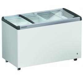 369 literes Liebherr üveg tolótetős mélyhűtő láda