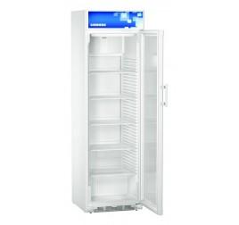 403 literes Liebherr üvegajtós hűtőszekrény felső LED világítással - fehér