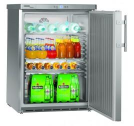 141 literes Liebherr teli ajtós hűtőszekrény - rozsdamentes külsővel