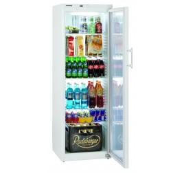 388 literes Liebherr üvegajtós hűtőszekrény