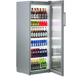 348 literes Liebherr üvegajtós hűtőszekrény