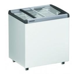 250 literes Liebherr mélyhűtő láda üveg tetővel