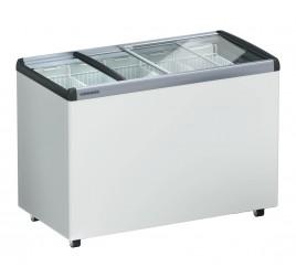417 literes Liebherr mélyhűtő láda üveg tetővel
