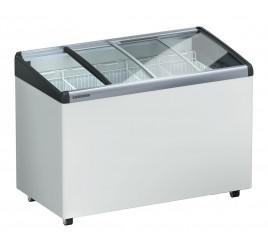 413 literes Liebherr mélyhűtő láda domború üveg tetővel