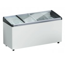 578 literes Liebherr mélyhűtő láda domború üveg tetővel