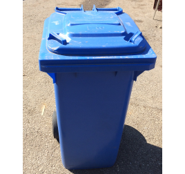 120 literes gördíthető műanyag hulladékgyűjtő ÚJ TERMÉK, TELEPHELYI ÁTVÉTELLEL
