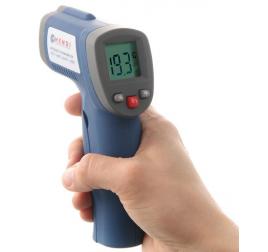 Infravörös hőmérő pisztoly lézeres célzással