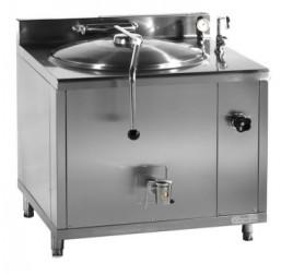 100 literes Gasztrometál gőzüzemű főzőüst