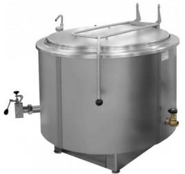 300 literes gőzüzemű főzőüst