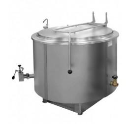 400 literes Gasztrometál gőzüzemű főzőüst