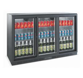 320 literes csúszó üvegajtós bárhűtő