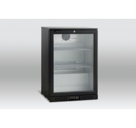 118 literes üvegajtós back bárhűtő