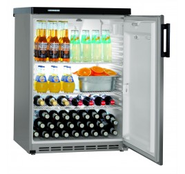 180 literes Liebherr teli ajtós hűtőszekrény - szürke
