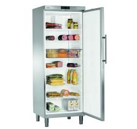 664 literes Liebherr teli ajtós hűtőszekrény - rozsdamentes külsővel
