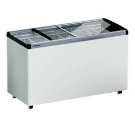 501 literes Liebherr mélyhűtő láda üveg tetővel