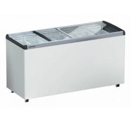 585 literes Liebherr mélyhűtő láda üveg tetővel