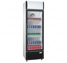 200 literes üvegajtós hűtőszekrény
