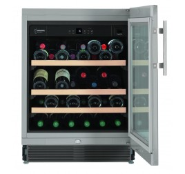 135 literes Liebherr üvegajtós borhűtő (borklíma) 1 hőmérsékleti zónával