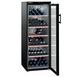 427 literes Liebherr üvegajtós borhűtő (borklíma) 1 hőmérsékleti zónával