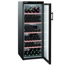 427 literes Liebherr üvegajtós borhűtő (bortemperáló) 6 hőmérsékleti zónával