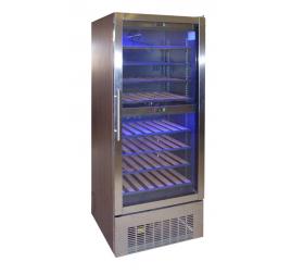 500 literes 2 légterű üvegajtós borhűtő 2 külön szabályozható hőmérsékleti zónával