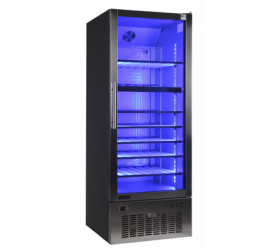 500 literes üvegajtós borhűtő