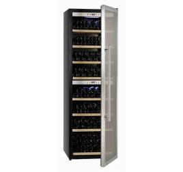 480 literes üvegajtós borhűtő 2 külön szabályozható hőmérsékleti zónával