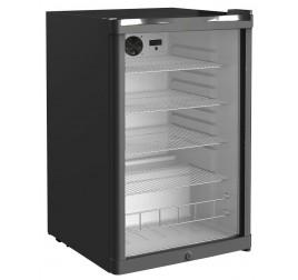 130 literes üvegajtós hűtőszekrény