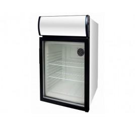 22 literes üvegajtós hűtőszekrény