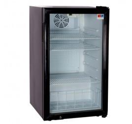 98 literes üvegajtós hűtőszekrény