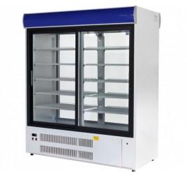 1400 literes csúszó üvegajtós hűtőszekrény