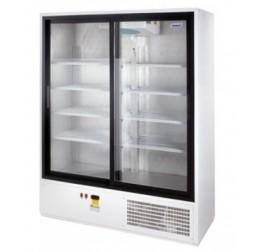 1200 literes csúszó üvegajtós hűtőszekrény