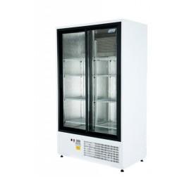 850 literes csúszó üvegajtós hűtőszekrény