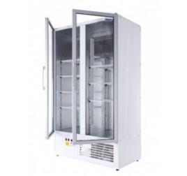 850 literes üvegajtós hűtőszekrény