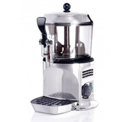 3 literes Bras forró csoki gép, ezüst