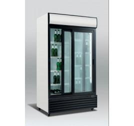 1000 literes csúszó üvegajtós hűtőszekrény