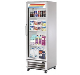 382 literes üvegajtós hűtőszekrény