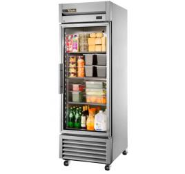 651 literes üvegajtós hűtőszekrény