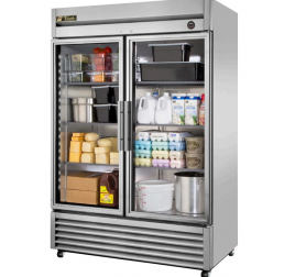 1388 literes üvegajtós hűtőszekrény