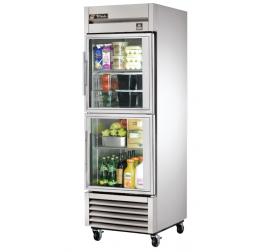 651 literes 2 üvegajtós, rozsdamentes hűtőszekrény