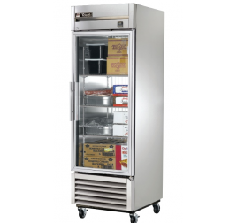 651 literes üvegajtós, rozsdamentes hűtőszekrény